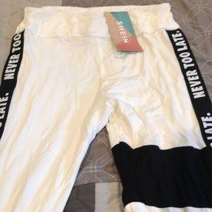 Brand New w/tags - SHEIN girls stretch leggings